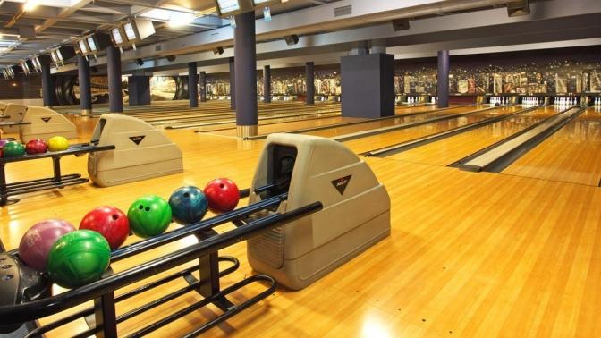 3часа игры вбоулинг вспортивно-развлекательном комплексе Bowling Show