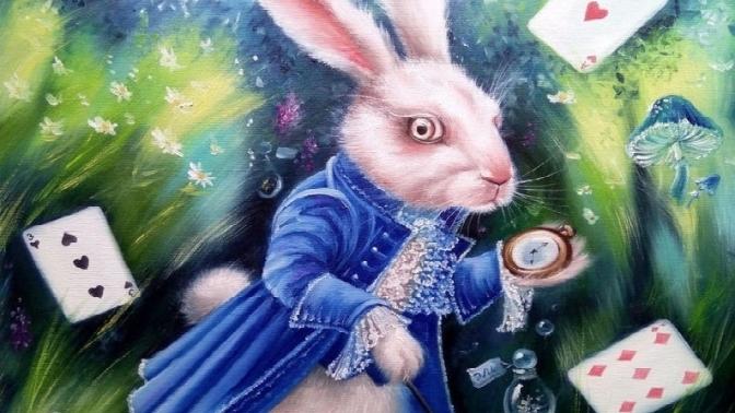 Участие вквесте «Следуй забелым кроликом» оттеатральной студии «Рафинад»