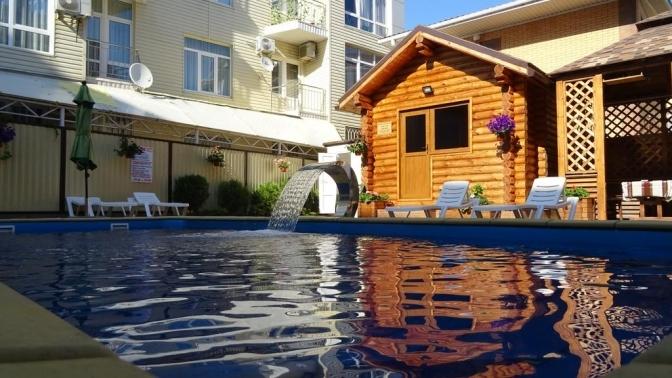 Отдых наЧерном море спосещением сауны иподогреваемого бассейна вгостинице Grand Villa
