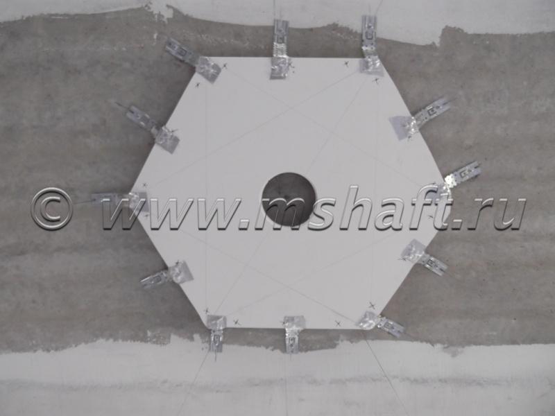 Установка люстры потолочной при монтаже натяжных потолков Mastershaft