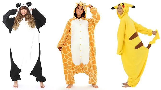 3621bbeec145 Забавные костюмы для больших детей: пижамы Kigurumi для взрослых и детей от  интернет-магазина Grenroz (1500 руб. вместо 3000 руб.)