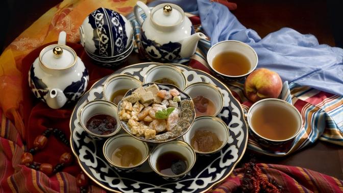 Чай в картинках казахстан