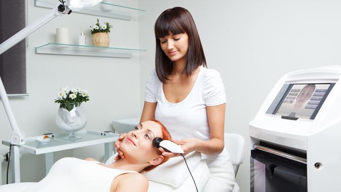 Сеансы лазерной биоревитализации, RF-лифтинга кожи век или лица, шеи изоны декольте всалоне «Бьюти Лайн»