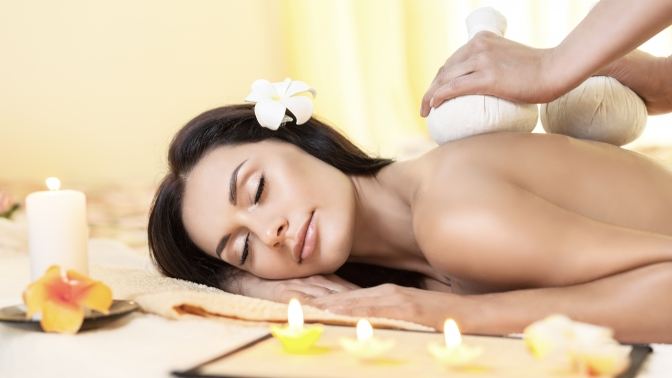 Стоун-терапия, массаж