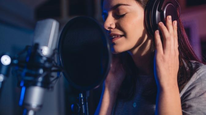 Занятия встудии вокала