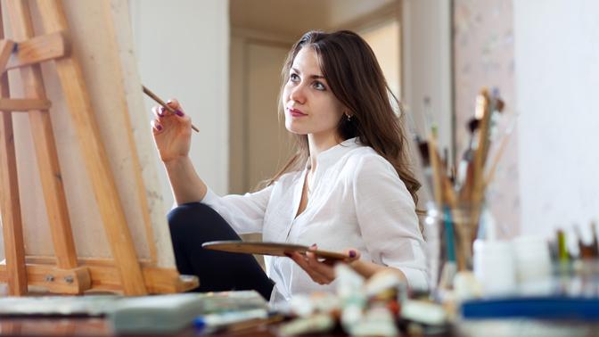 Посещение мастер-класса порисованию, курса поскетчингу или абонемент отстудии живописи «Холст имасло»