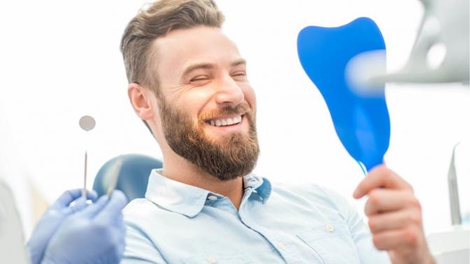 Комплекс стоматологических процедур отполиклиники «Дентал Клиник» (1400руб. вместо 14000руб.)