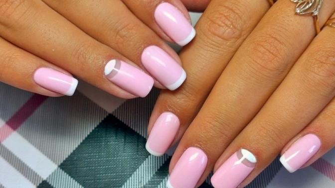 Маникюр тиффани розовый