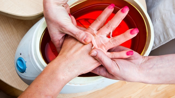 Парафинотерапия для рук маникюр