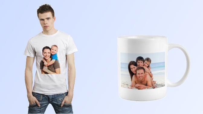 Фото на чашке футболке в кировограде