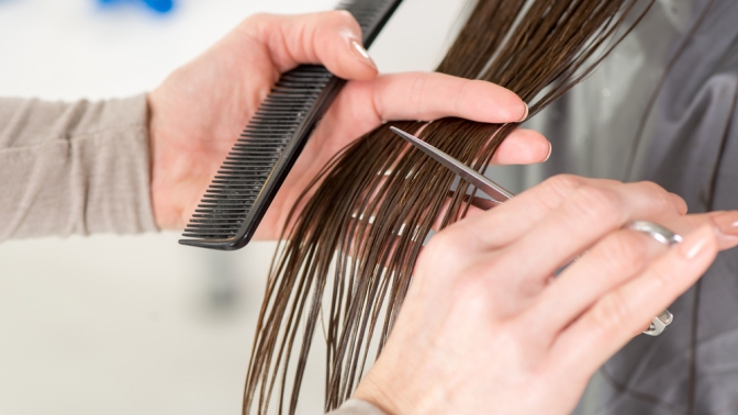 Мужская или женская стрижка, укладка, стрижка бороды, окрашивание, мелирование, восстановление, лечение волос всалоне «Макки»