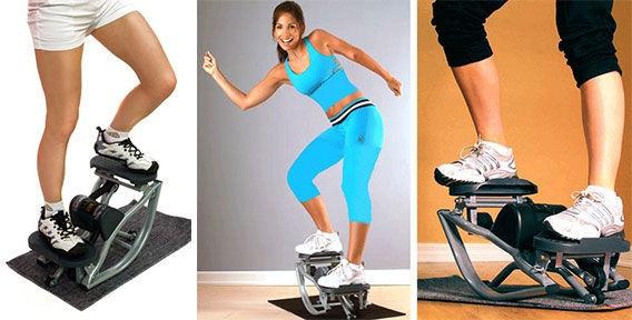 Мини-степпер для похудения Упражнения Тренировка Видео