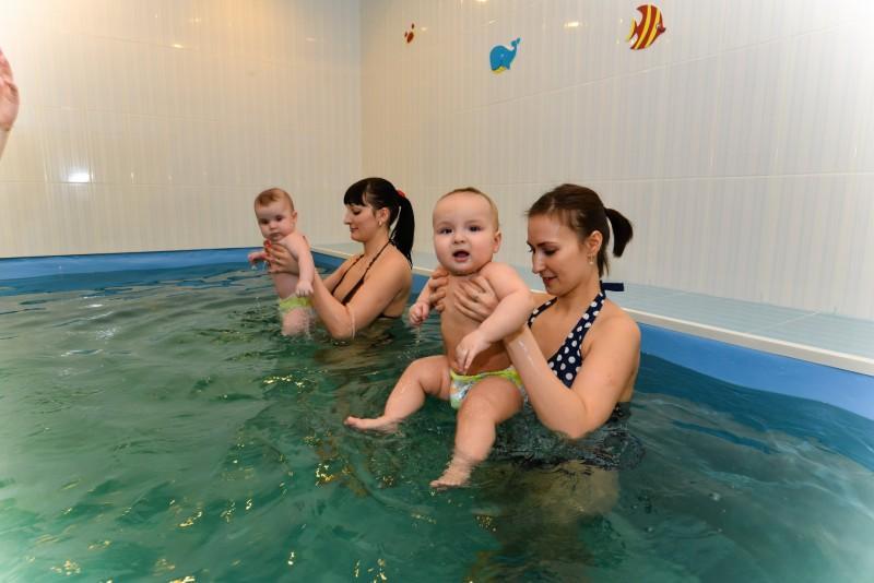 бассейн для малышей с мамами измайлово