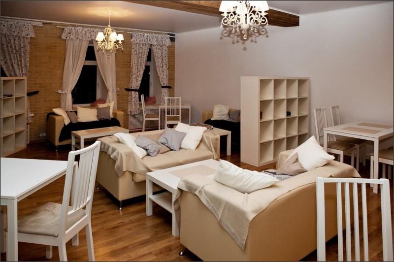 Фото лодж с мебелью.