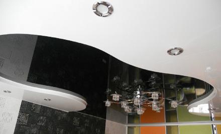 Скидка 53% на натяжной потолок для вашего дома или офиса от компании Эльбрус